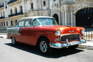 vip classic car transfer by old cars havana